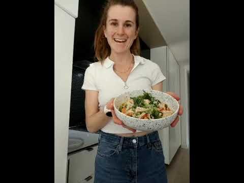 Quick and easy tofu stir fry (low FODMAP): Lauren