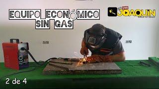 COMO SOLDAR CON HILO 2-4 (Regulación de equipo económico SIN GAS)
