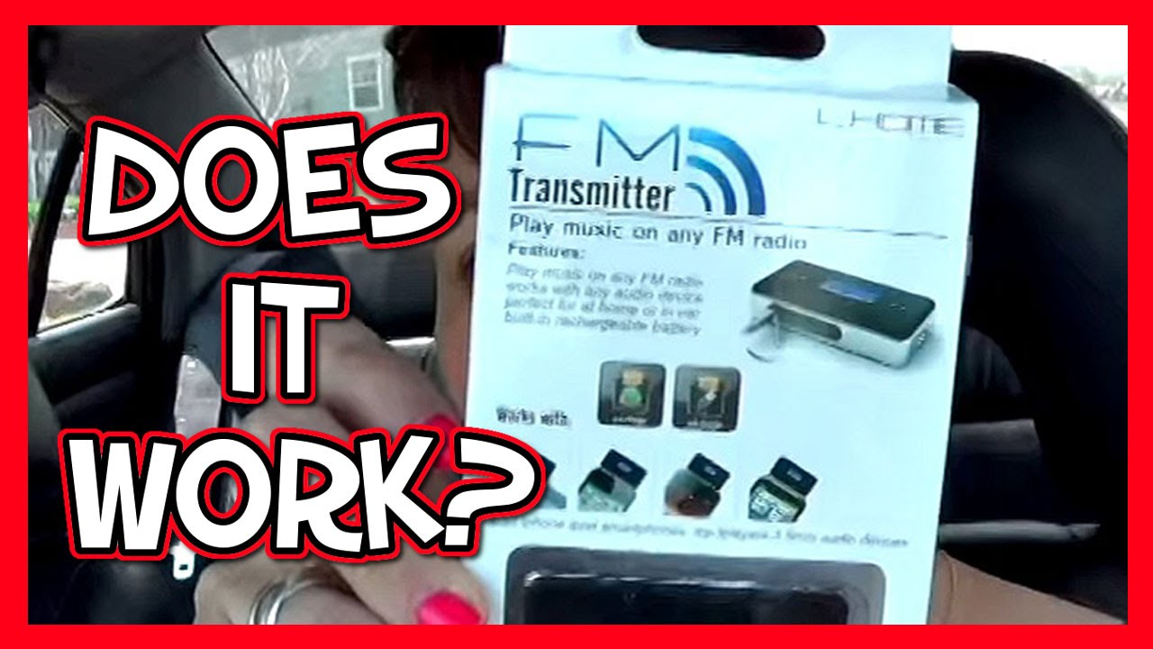 Does it Work? FM Transmitter for the Car 📍 How To With Kristin