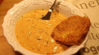Yellow Squash Fozelek with Egg-fried Bread (Tökfőzelék Bundáskenyérrel)