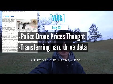 Police Drone Prices Thought With Some Tight Drone Flight Practice Video