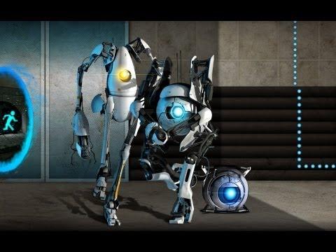 Portal 2 - Cooperativo con Haya - Fase 5 [Parte 2] ¡¡¡Los humanos!!! (HD 720p)