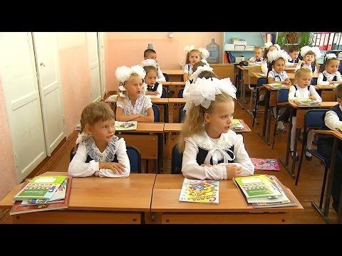 Школьники приступили к учебе