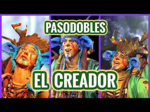 Todos los PASODOBLES, Comparsa EL CREADOR | Segundo Premio Carnaval de Cádiz 2016