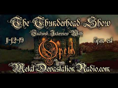 Exclusive Interview With Fredrik Åkesson Of Opeth On The Thunderhead Show