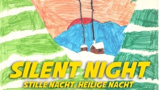 Silent night (instrumental with lyrics - karaoke video)
