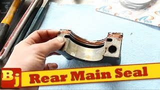 How To Fix a Rear Main Seal and Oil Pan Gasket Leak