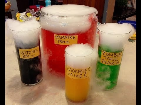 mad scientist potions halloween party drinks - Halloween Themed Alcoholic Shots