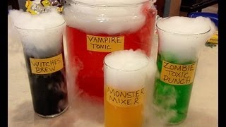 Mad Scientist Potions - Halloween Party Drinks