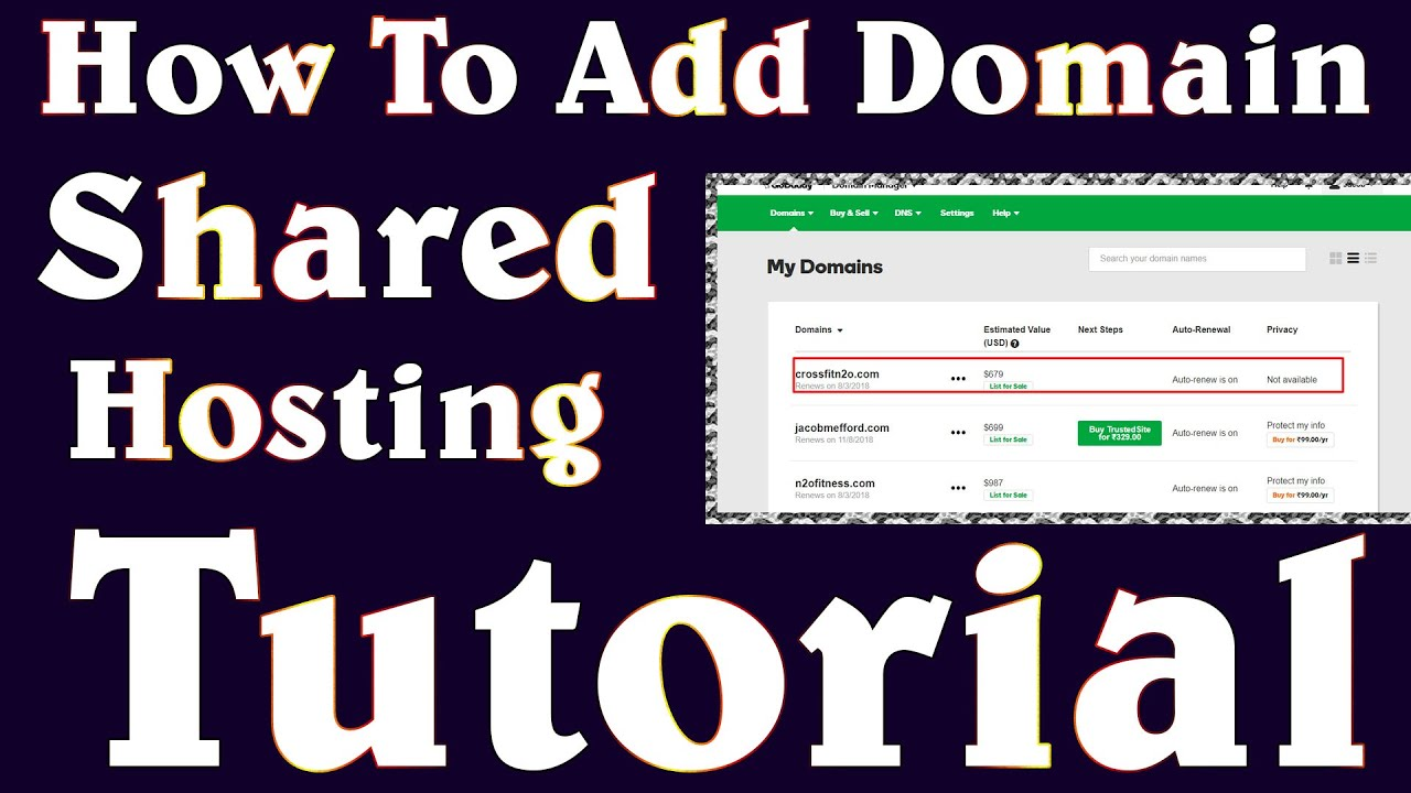 How To Add Domain In Shared Hosting Using Cloudflare IP Address In Urdu  Hindi