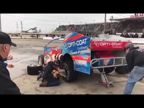 RPW SDW 2018 - Erick Rudolph Lap 138 Pit Stop Billy Whittaker Cars 200