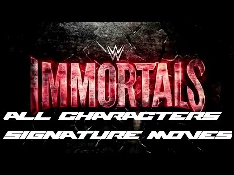 WWE Immortals - All Characters Super...