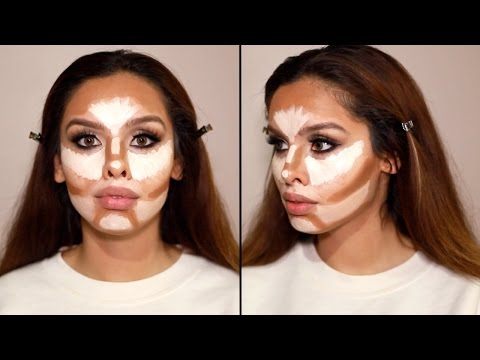 How to Contour & Highlight your face!!