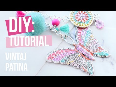 Schmuck machen: Vintaj Patina ♡ DIY