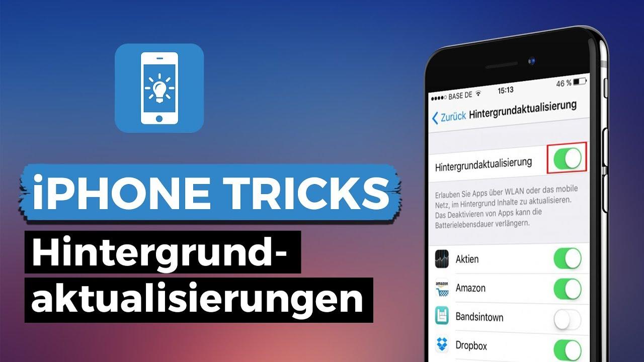 Apps im hintergrund finden