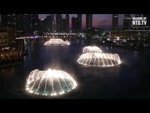 Largest musical fountain in the world