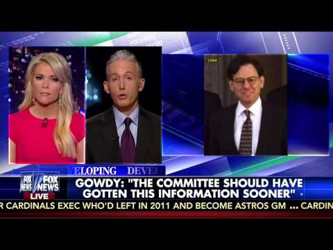 Rep. Gowdy discusses Sidney Blumenthal Deposition with Megyn Kelly