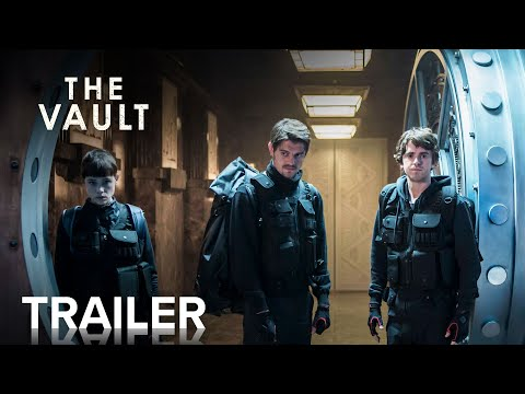 THE VAULT | Official Trailer | Paramount Movies