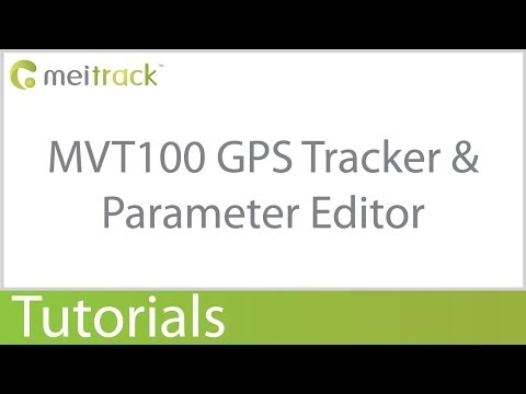 MVT100 Vehicle & Fleet Management GPS Tracker Paramater Editor Configuration