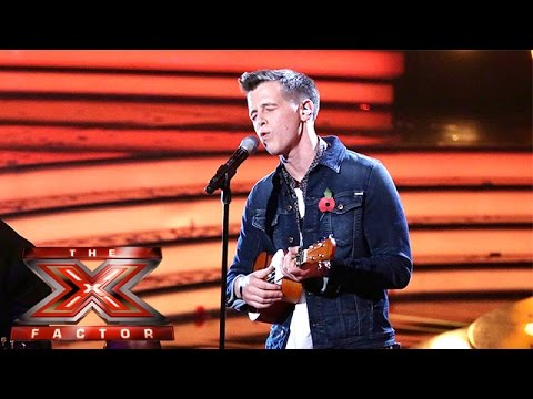 Max Stone is Somewhere Over The Rainbow  | Live Week 2 | The X Factor 2015