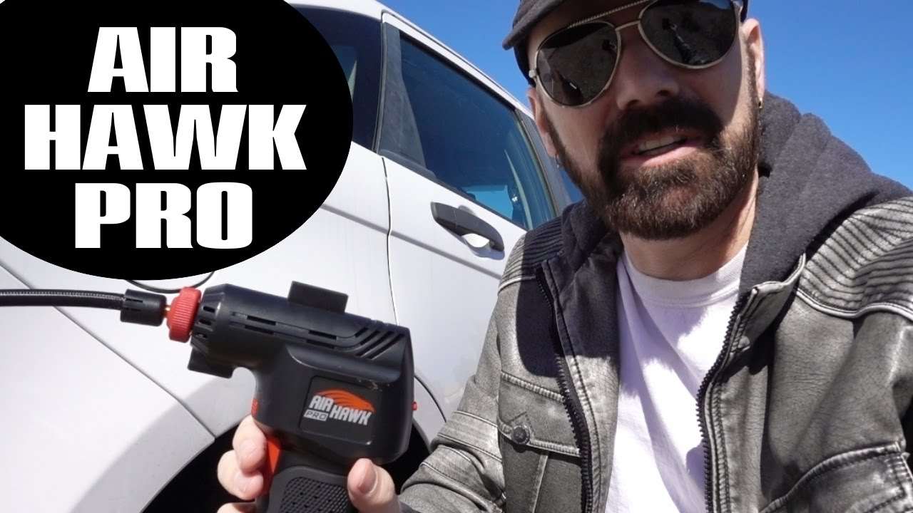 Air Hawk Pro Review 1st Look And Tire Inflation Test Youtube