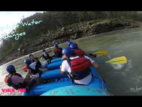Rishikesh White Water Rafting Ganges India Summer 2016 Club House Rapid GoPro Cam