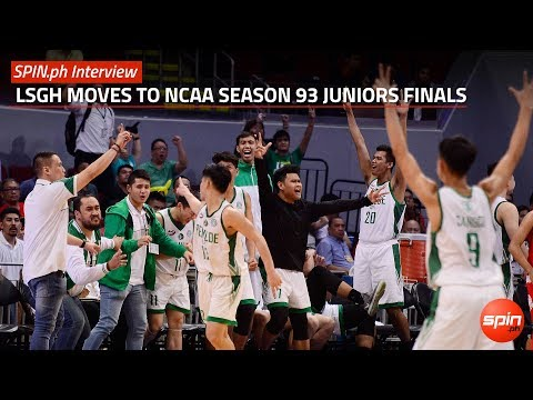 SPIN.ph Interview: LSGH moves to NCAA 93 juniors finals