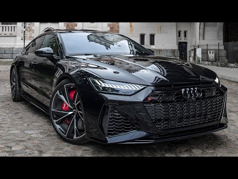 WOW! 2021 AUDI RS7 SPORTBACK - MURDERED OUT V8TT BEAST - BEST LOOKING AUDI EVER? IN DETAIL