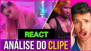 "React Nicki Minaj Analisa ""Ariana Grande 7 kings"" (#DiogoParodias)"