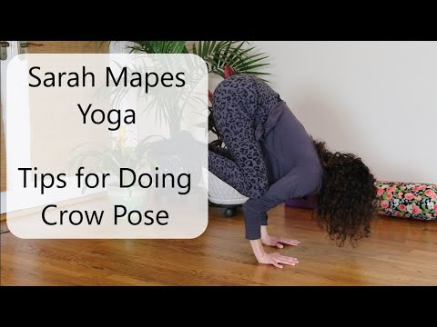 tips for doing crow pose  youtube