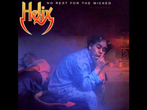 HELIX - DOES A FOOL EVER LEARN LYRICS