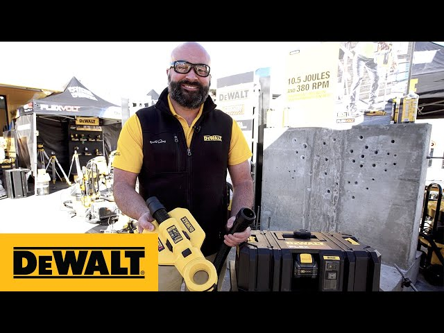 DEWALT 60V MAX* Cordless Dust Extractor (DCV585) Product Overview