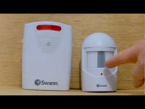 Cheap in/outdoor wireless motion detector + alarm sound