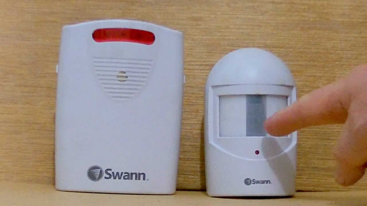 Captivating Cheap In/outdoor Wireless Motion Detector + Alarm Sound   YouTube