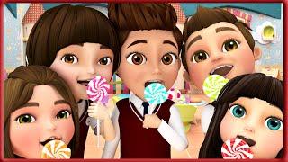 kids Eating Sugar In Class | Johny Johny Yes Papa - School Version | Banana Cartoons Original Songs
