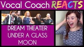 Vocal Coach reacts to Dream Theater - Under a Glass Moon (Live in Tokyo 1993)