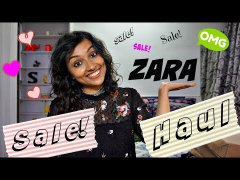 Zara Winter Sale Try On Haul   First Time Online Sale In India?