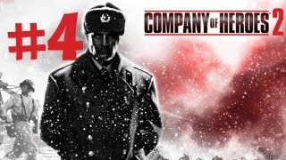 Company of Heroes 2 - Gameplay Walkthrough Part 4 - Miraculous Winter - Single Player Campaign