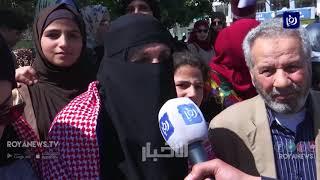 مسيرة أمام المسجد الحسيني تأييداً لمواقف جلالة الملك تجاه القدس  - (12-4-2019)