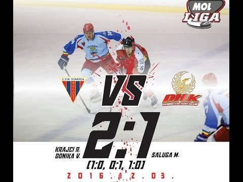 MOL133  Dunarea Galati - Debreceni HK   2:1 (1:0, 0:1, 1:0) 2016.12.03