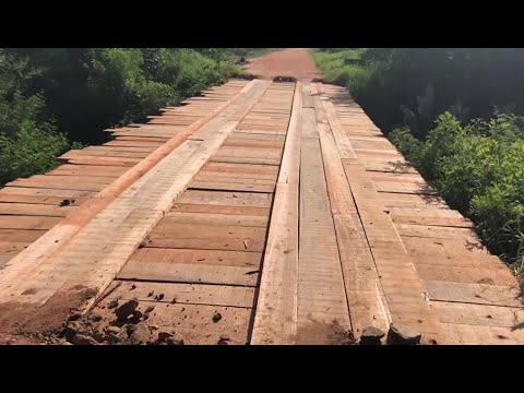 Ponte é restaurada e transito é liberado no Distrito Industrial de Camaquã