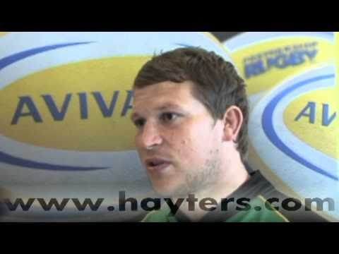 Dylan Hartley Interview - 26-Aug-10