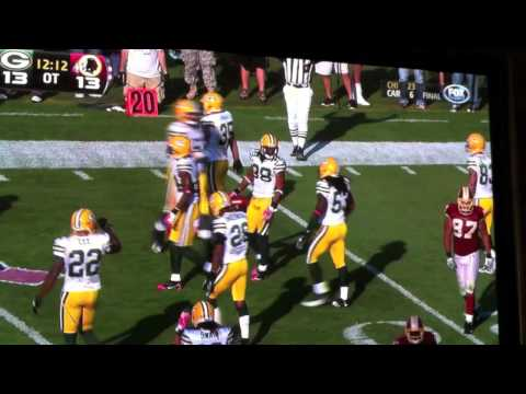 TRAMON WILLIAMS GETS HIT BY MIKE SELLERS