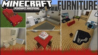 FURNICRAFT How To Get Furniture In Minecraft Bedrock Edition 1.6+