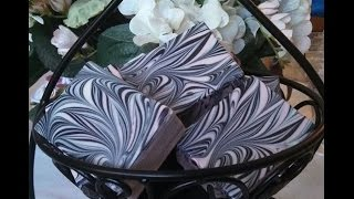 Fleur-de-lis pattern... By... Misty Springs Bath and Body LLC.