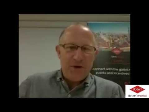Interview with Graeme Barnett - IBTM World Senior Exhibition Director