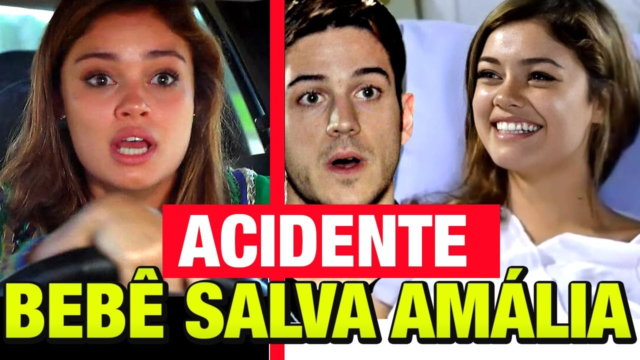 FINA ESTAMPA  - MILAGRE ACONTECE! e Amália é salva por uma GRAVIDEZ!