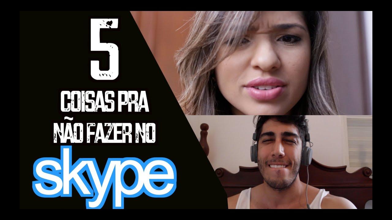 5 coisas pra não fazer no Skype - DESCONFINADOS
