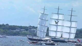 Maltese Falcon Transatlantic Race Start