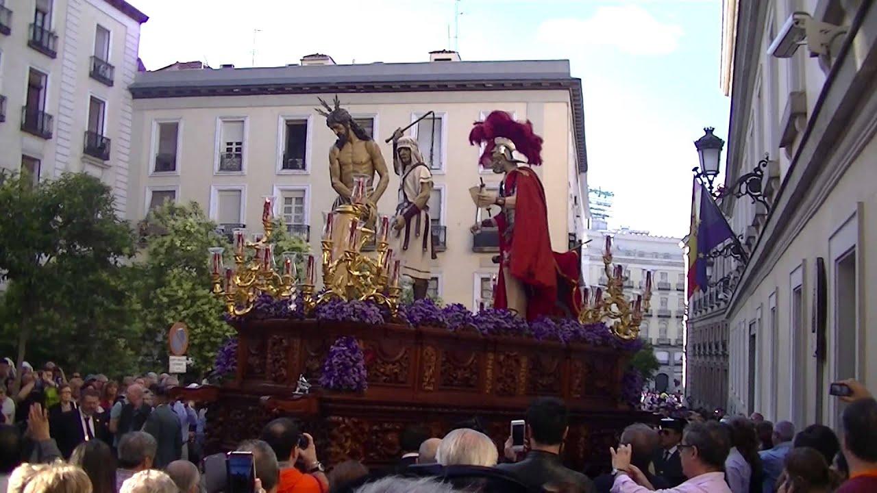 Resultado de imagen de procesion hermandad del silencio madrid